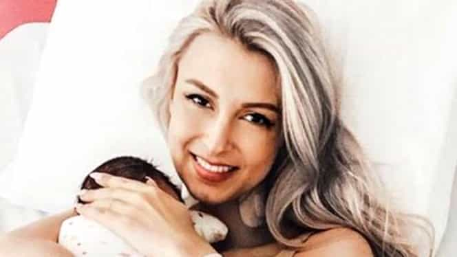 Andreea Bălan, încă o problemă după naştere! Ce spune despre depresia postnatală