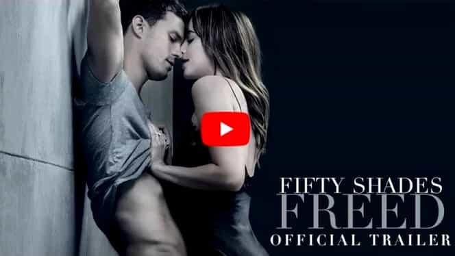 """VIDEO A apărut trailer-ul oficial pentru """"Fifty Shades Freed"""". Atmosfera se încinge mai ceva ca până acum"""