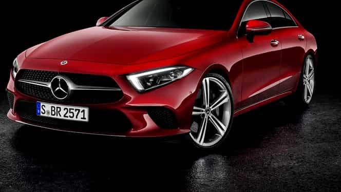 Primele fotografii cu noul Mercedes-Benz CLS! Bolidul va fi lansat în 2018!