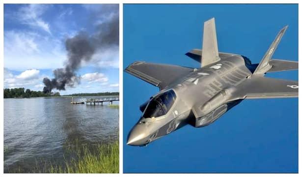 Un avion de tipul F-35 a căzut din aer în dreptul zonei unei baze aeriene din Carolina de sud. Potrivit postului CBC News, nu au existat victime în urma accidentului.
