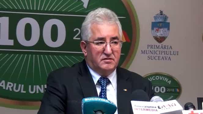 Primarul din Suceava, autoizolat în birou. O angajată din instituție a fost depistată cu Covid-19