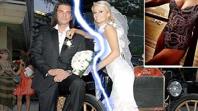 Primele imagini cu Julia Jianu, după divorţul oficial! Artista şi-a etalat silicoanele de 1 kg, alături de noul iubit