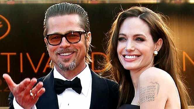 """Ce spune Angelina Jolie despre scenele FIERBINŢI cu Brad Pitt din filmul """"By the Sea"""""""