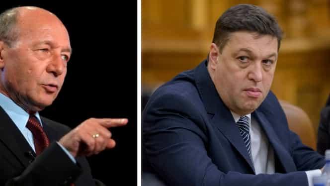 """Traian Băsescu, reacție furibundă! L-a desființat pe Șerban Nicolae: """"Ești copilul lui Iliescu. Te-a crescut la Cotroceni"""""""