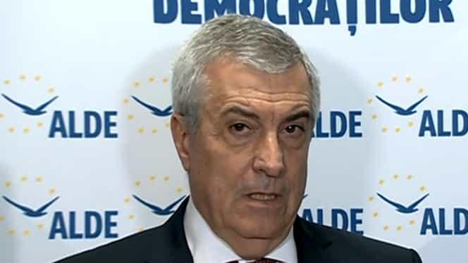 Călin Popescu Tăriceanu, primul pe listă la moțiunea de cenzură împotriva guvernului Orban!