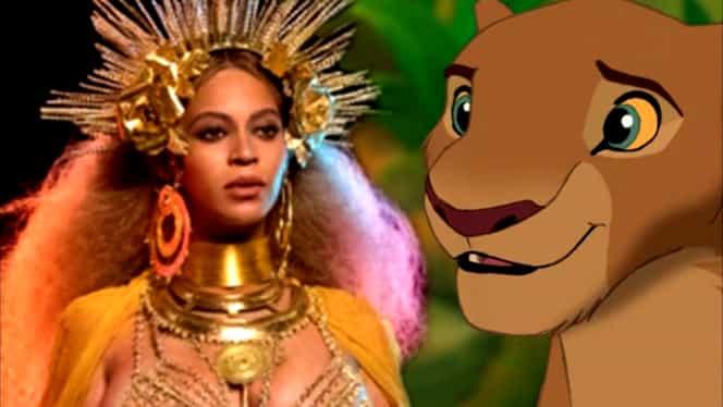 """GALERIE FOTO. Beyonce, regina animalelor! Cântăreaţa va juca în """"The Lion King"""""""