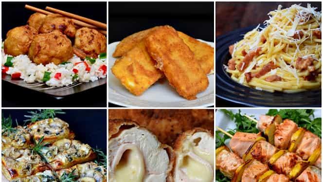 4 feluri de mâncare rapide. Le gătești imediat și le și mănânci la fel