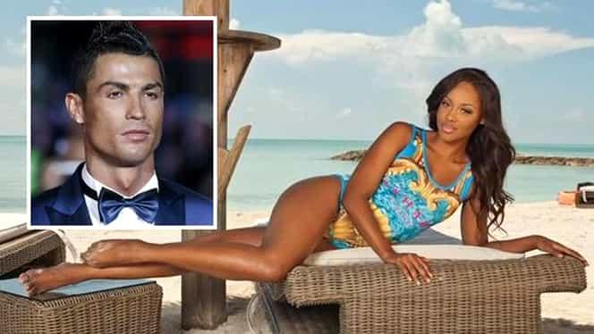 VIDEO ŞI FOTO. Cu ea se încălzeşte Ronaldo înainte de El Clasico! Portughezul, o nouă cucerire