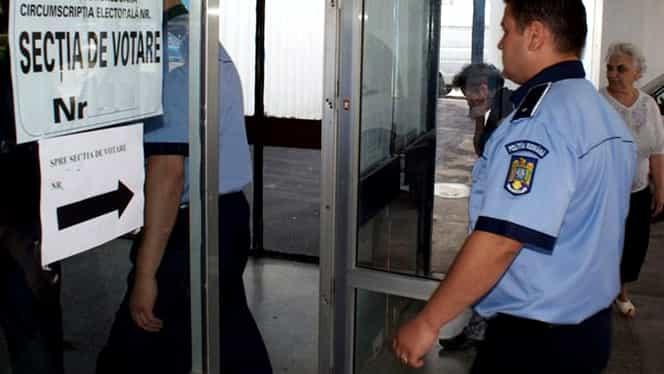 Peste 2.000 de polițiști vor ieși în stradă în ziua alegerilor prezidențiale. Autoritățile anunță măsuri sporite