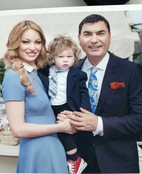 Valentina Pelinel și Cristi Borcea mai au împreună un copil pe Milan Cristian
