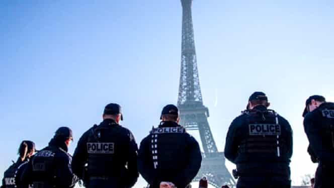 Mobilizare masivă de polițiști și jandarmi în Franța pentru Revelion! Anunț oficial al Guvernului