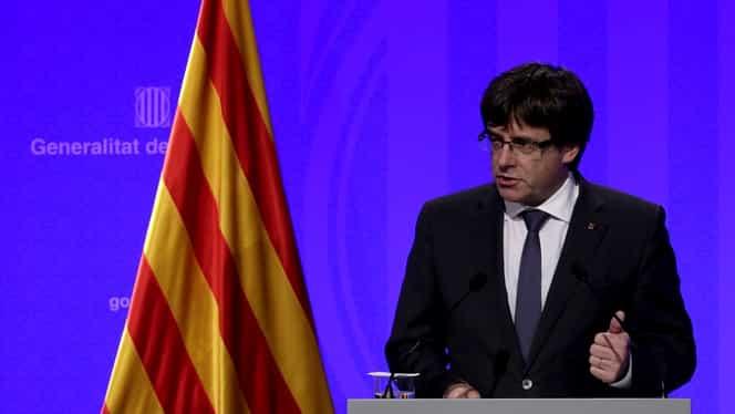 Tribunalul Constituţional spaniol a anulat declaraţia de independenţă a Cataloniei. Puigdemont a fugit în Belgia!