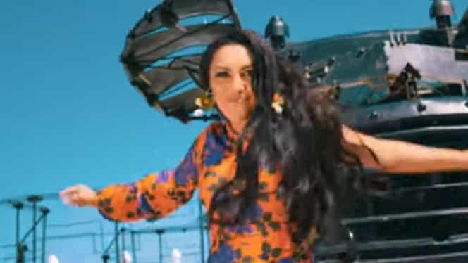 Andra, apariţie de senzaţie în noul videoclip! Soţia lui Cătălin Măruţă i-a uimit pe fani. FOTO