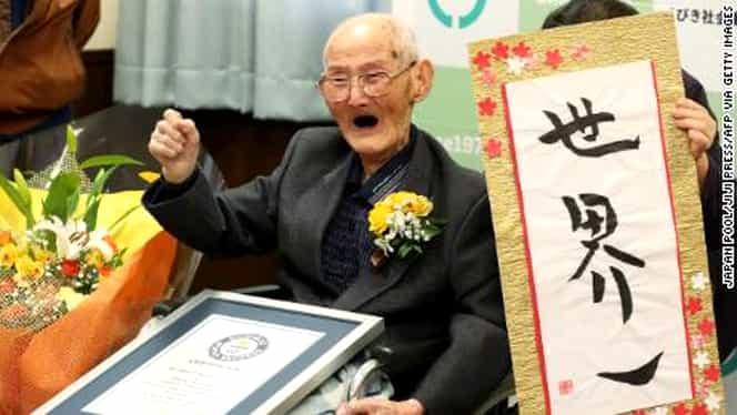 Cel mai bătrân bărbat din lume a murit. Un român deţine acum locul doi în topul celor mai longevivi bărbaţi
