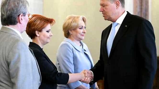 Viorica Dăncilă confirmă: Klaus Iohannis i-a respins pe Olguţa Vasilescu la Dezvoltare şi Mircea Drăghici la Transporturi