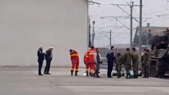 Un militar a murit în timpul pregătirilor pentru parada de 1 Decembrie. VIDEO