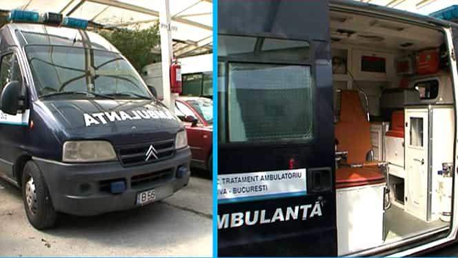 Ministerul de Interne vorbește despre ambulanța neagră! Ultimele detalii!