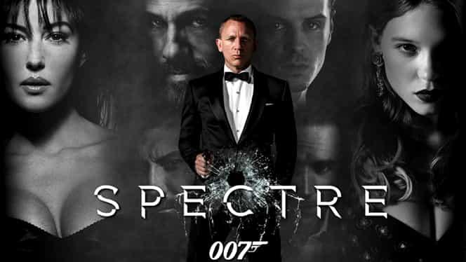 """""""Spectre"""", noul film cu James Bond sparge toate recordurile. Cînd poate fi văzut şi în România"""