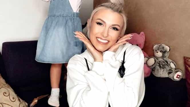 Ella, fiica Andreei Bălan, a împlinit trei ani. Mesajul artistei cu această ocazie