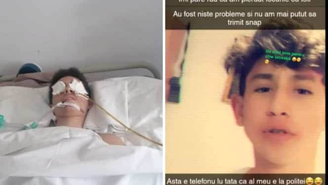 """În timp ce un băiat de 14 ani se află în moarte cerebrală, agresorul postează liniștit pe Facebook: """"Sunt bine pentru cine întreabă. Vă pup pe toți"""""""