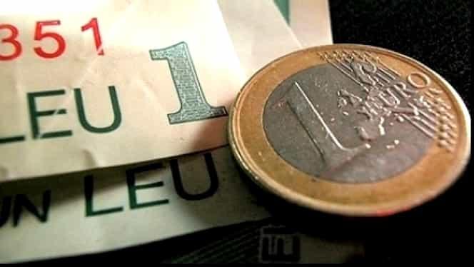 Veste bună pentru românii cu rate în euro: leul se întăreşte SPECTACULOS