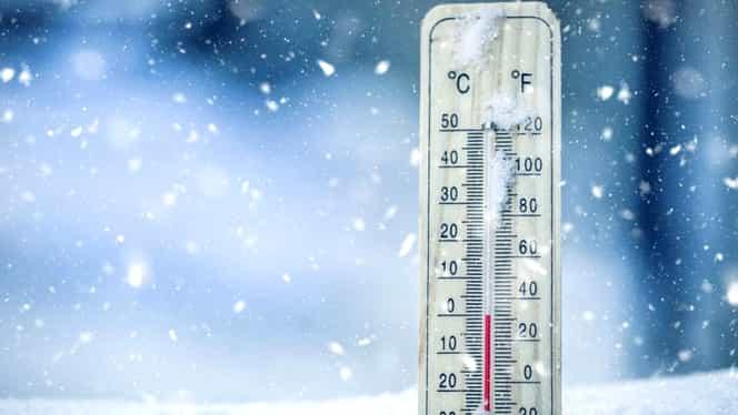 Prognoza meteo pentru ianuarie: vremea rea face ravagii! Ninsori abundente și temperaturi extreme