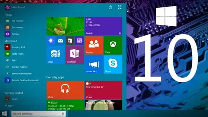Windows 10, oficial în România. Ce aduce noul sistem de operare