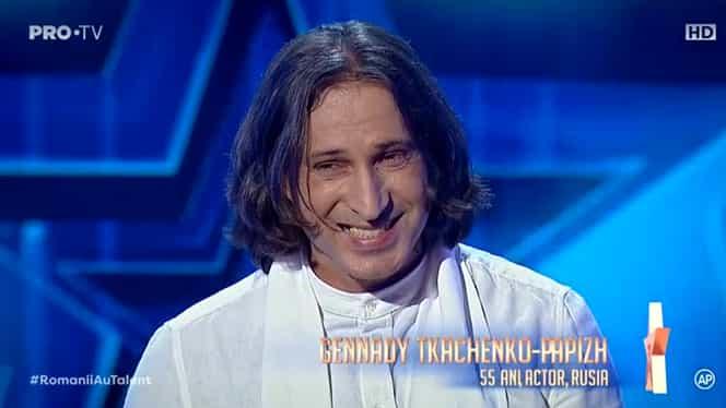 """Gennady a uluit juriul Românii au talent și a primit un Golden Buzz! """"Vocea lui nu e de om"""""""