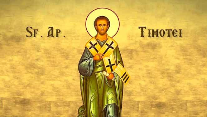 Calendar ortodox miercuri, 22 ianuarie 2020. Biserica îl sărbătorește pe Sfântul Timotei