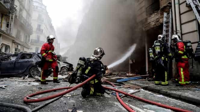 Explozie puternică la Paris! Care este bilanțul victimelor din capitala Franței