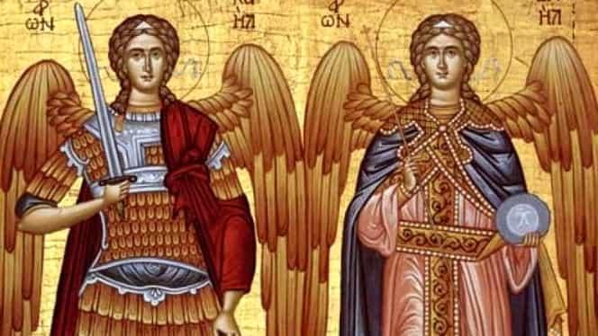 Calendar ortodox, vineri, 8 noiembrie. Sfinții Arhangheli Mihail și Gavril. Sărbătoare cu cruce roșie și zi de post