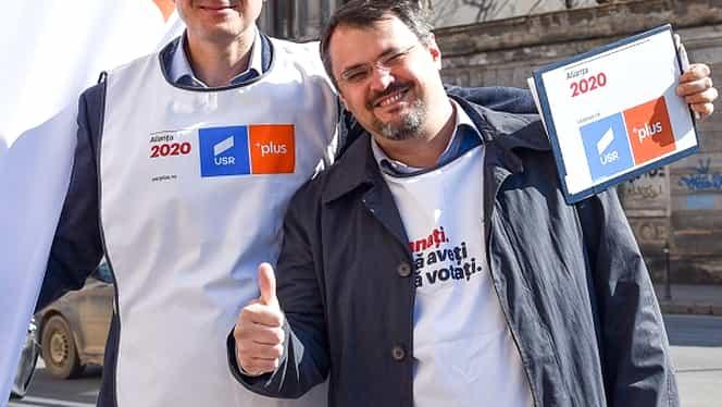 """Europarlamentarul USR Cristian Ghinea dă vina pe """"Sistem"""" după înfrângerea lui Dan Barna"""
