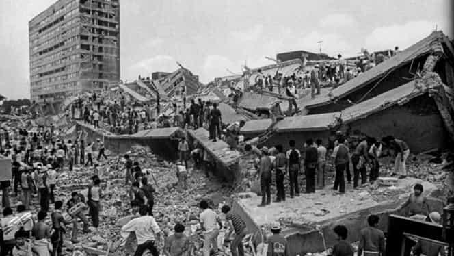 19 septembrie, semnificaţii istorice! Un cutremur de 8,1 pe Richter ucidea 9000 de mexicani