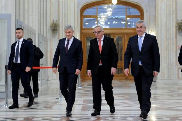 Jean Claude Juncker, preşedintele Comisiei Europene, a răbufnit la întâlnirea cu Tăriceanu