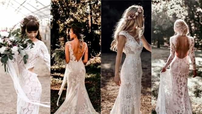 27 De Rochii De Miresă Pe Stil Bohemian Noul Stil Vestimentar în