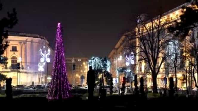 Restricţii de circulaţie în perioda 30 decemebrie -1 ianuarie pe străzile din jurul Pieţei George Enescu, pentru petrecerea de Revelion