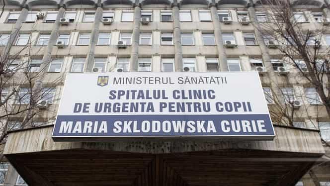 Fetiță în moarte cerebrală, după ce a făcut gripă! Mama acuză Spitalul Marie Curie