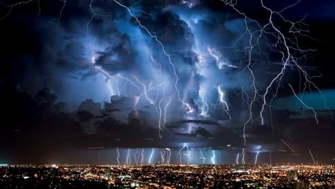 Avertizare meteorologică de ultimă oră! Cod galben de furtuni