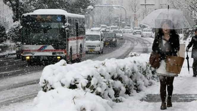 ANM a prelungit codul galben de ninsoare: lista județelor vizate