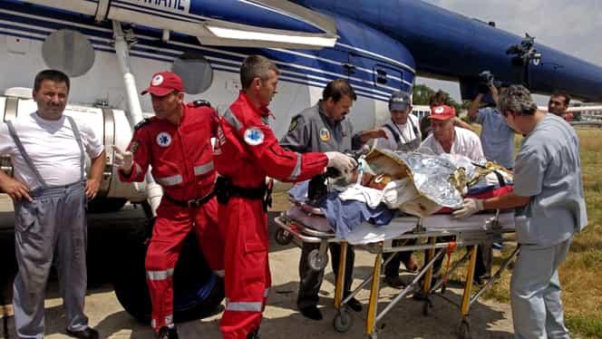 Un bărbat a murit cu zile după ce a stat o oră în albia râului Tarcău. Elicopterul SMURD nu a intervenit pentru că ieșise din program de 5 minute