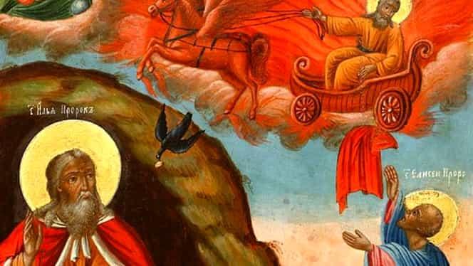 De ce este asociat Sfântul Ilie cu tunetele, fulgerele și furtunile