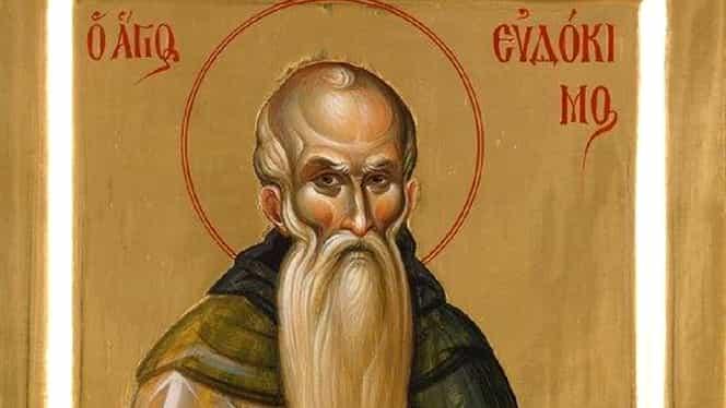 Calendar creștin ortodox miercuri, 31 iulie 2019. Biserica îl pomenește pe Sfântul Evdochim