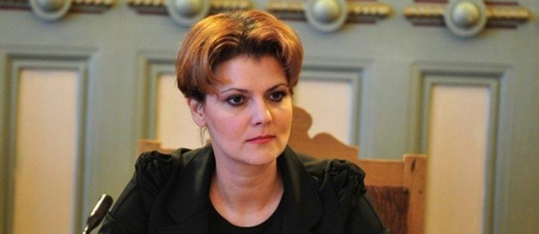 Lia Olguta Vasilescu este înlocuită de la Ministerul Muncii. Cine vine în locul ei