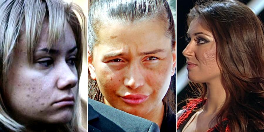"""Par cele mai frumoase femei din Romania, dar să vezi cum arată fără machiaj şi Photoshop! E JALE! Ele sunt cele mai """"BUBOASE"""" DIVE din showbiz-ul autohton"""