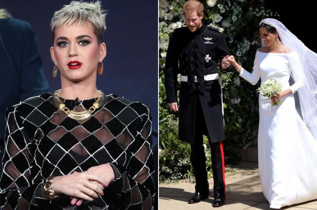 """Kate Perry, cu toate că a criticat rochia lui Meghan Markle, a avut numai cuvinte de laudă la adresa mirilor. """"Sunt fericită pentru ei, este uimitor ce face ea, toate eforturile umanitare. Îmi place faptul că este o feministă mândră. O sprijin ca de la femeie la femeie și le urez tot binele din lume"""", a completat Katy."""