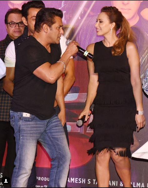 Iulia Vântur și Salman Khan au apărut împreună, acu o zi