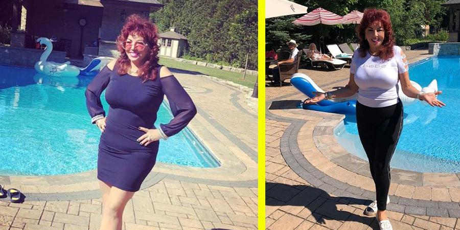 Carmen Harra s-a dezbracat la 63 de ani! Cum arata in costum de baie din doua piese, la piscina! Uluitor!