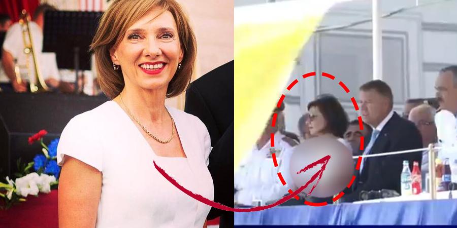 """Cum a aparut Carmen Iohannis, la Ziua Marinei! Oamenii au crezut ca nu vad bine! """"Da, ea e!"""""""
