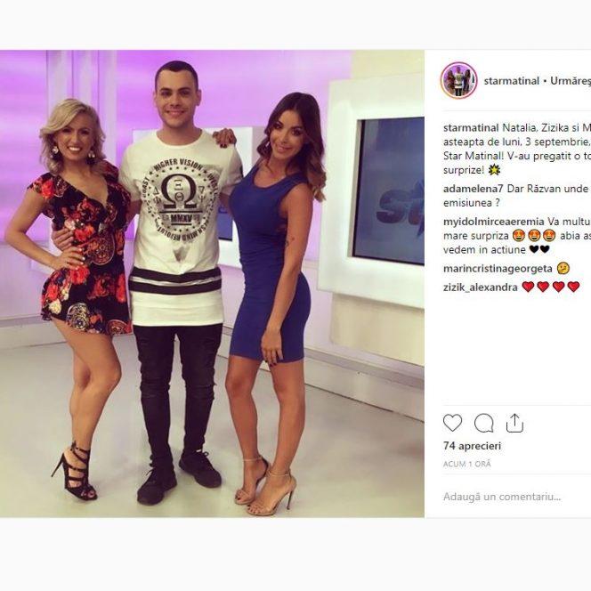 Iată cu cine au fost înlocuiți Răzvan Botezatu și Raluca Dumitru la Antena Stars