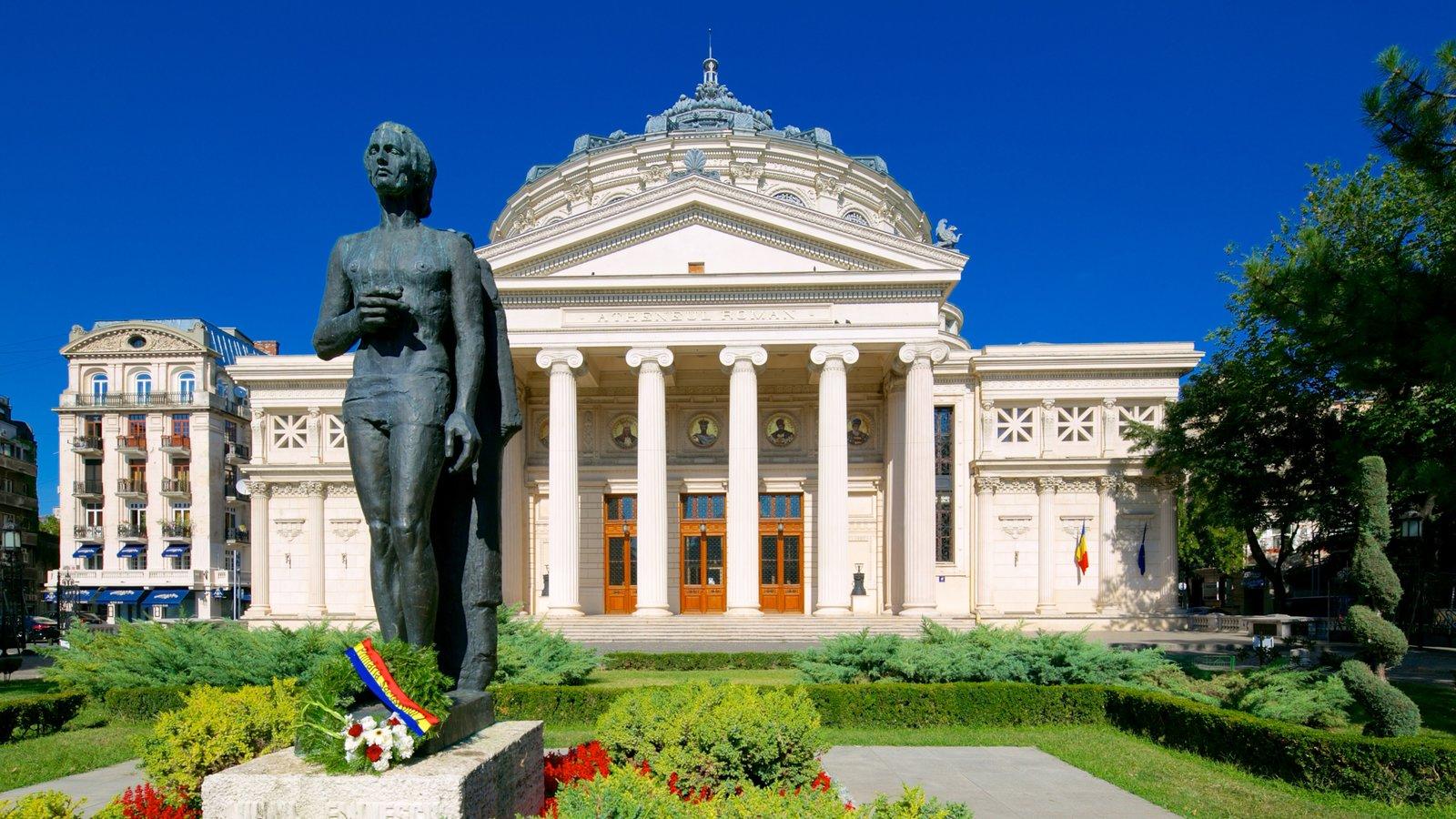 """Festivalul și Concursul """"George Enescu"""" țși va desfășura fazele finale la Ateneul Român,, în umbra statuii genialului și irepetabilului Mihai Eminescu"""